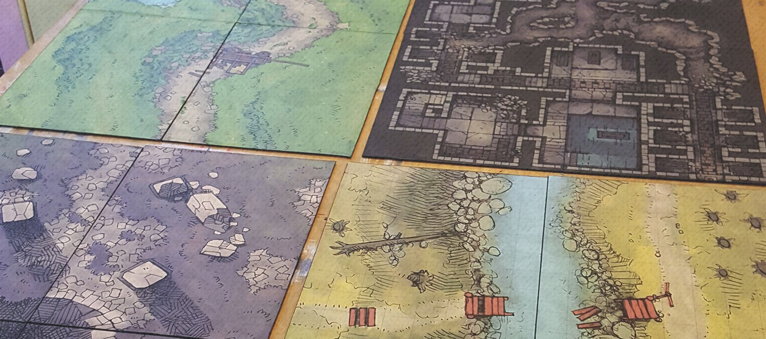 Battle Map Prints