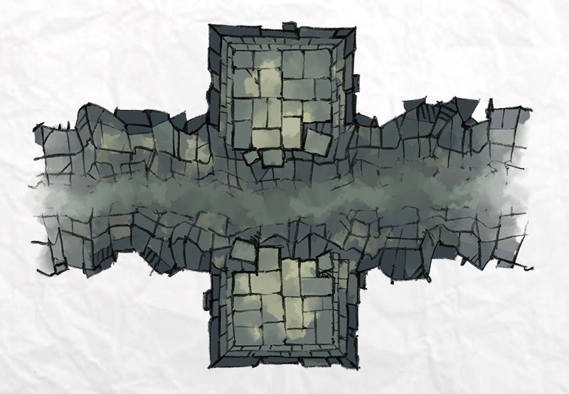 Dungeon Chasm 2 Minute Table Top