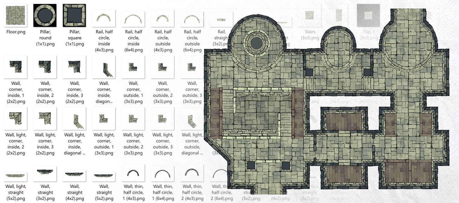 Dungeon Room Builder Banner