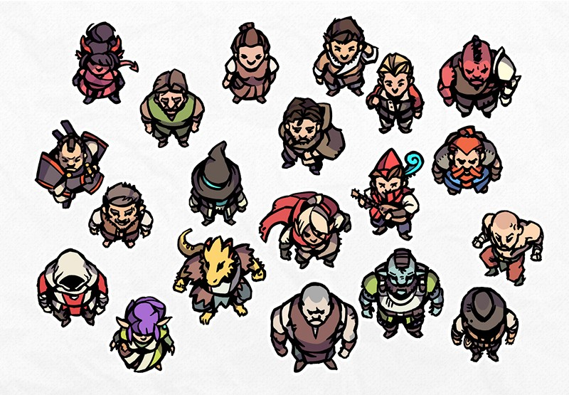 Hero Tokens 2, prefabs