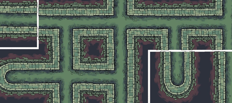 Sewer Battle Map Tiles, Banner
