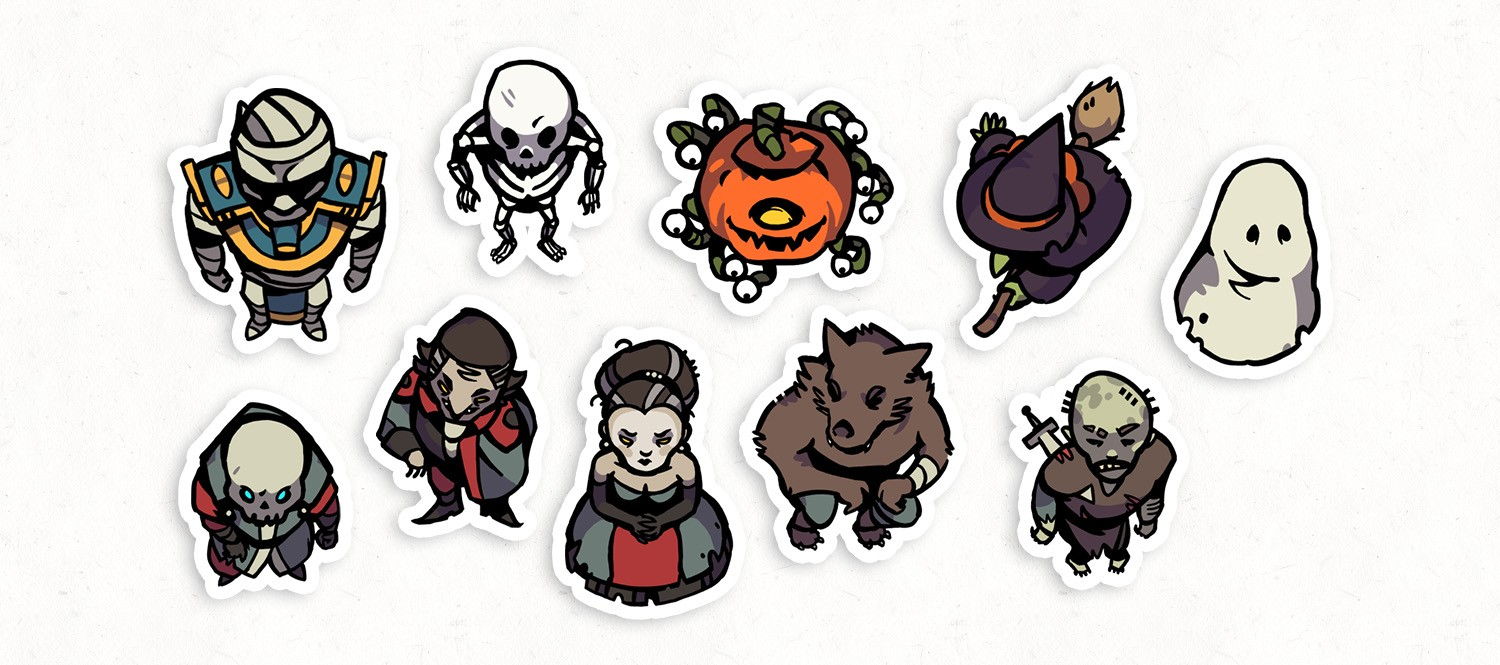 Halloween Monster RPG Tokens – Banner Preview