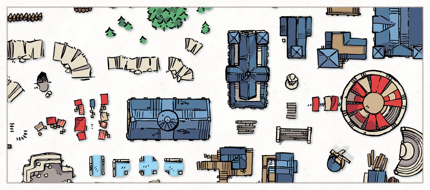 Wonderdraft Town & City Map Assets Pt.3, banner
